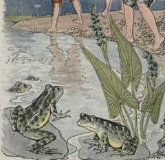 Aesop's Fables - The Boys and the Frogs Fable