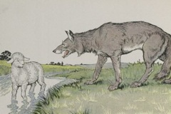 Aesop's Fables - The Wolf and the Lamb Fable
