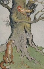 Aesop's Fables - The Dog the Cock and The Fox Fable