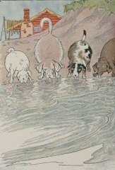 Aesop's Fables - The Dogs and the Hides Fable