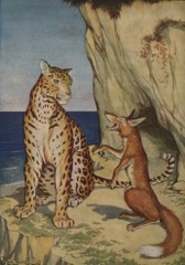 Aesop's Fables - The Fox and the Leopard Fable
