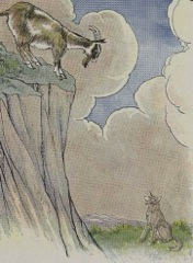 Aesop's Fables - The Wolf and the Goat Fable