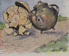 Aesop's Fables - The Two Pots Fable