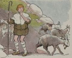 Aesop's Fables - The Goatherd and the Wild Goats Fable