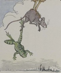 Aesop's Fables - The Frog and the Mouse Fable