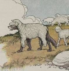 Aesop's Fables - The Wolf in Sheeps Clothing Fable