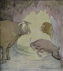 Aesop's Fables - The Bull and the Goat Fable