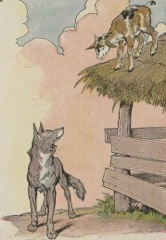 Aesop's Fables - The kid and the wolf Fable