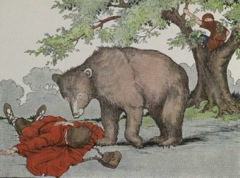 Aesop's Fables - Two Travelers and a Bear Fable