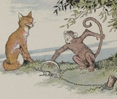 Aesop's Fables - The Fox and the Monkey Fable