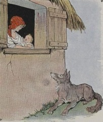 Aesop's Fables - The Mother and the Wolf Fable