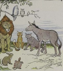 Aesop's Fables - The Animals and the Plague Fable