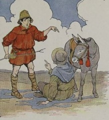 Aesop's Fables - The ass and its Shadow Fable