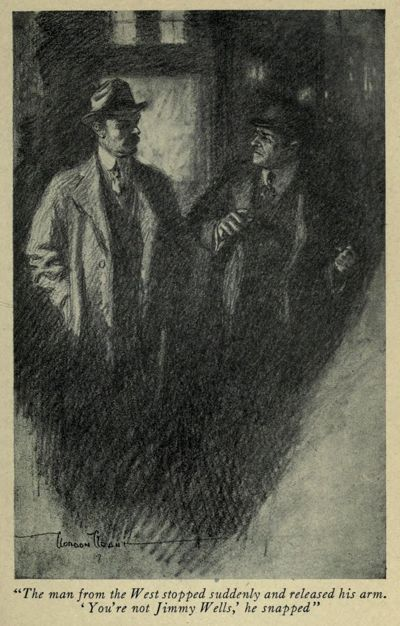 An illustration for the story After Twenty Years by the author O. Henry