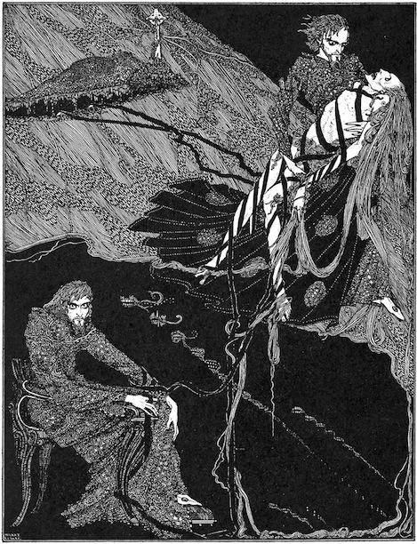 edgar allan poe an illustration for the story berenice by the author edgar allan poe