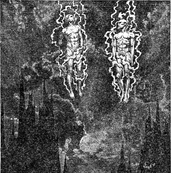 An illustration for the story Beyond the Wall of Sleep by the author H. P. Lovecraft