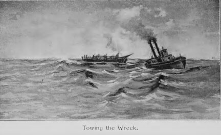 Rounding Cape Horn and other stories, Bringing in a Derelict, wreck