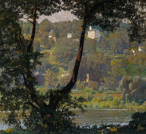 Daniel Garber, Tohickon, New Hope, 1920