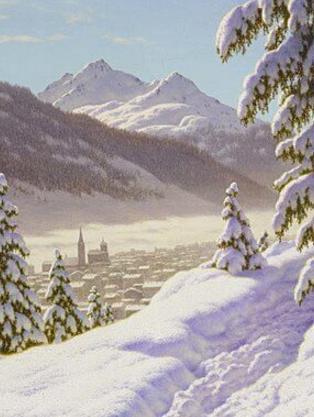 Winter Sports Stories: Davos in Winter