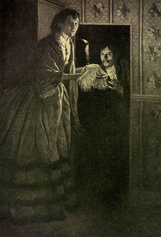 An illustration for the story Elizabeth Van Lew: The Girl That Risked All That Slavery Might be Abolished   by the author Kate Dickinson Sweetser