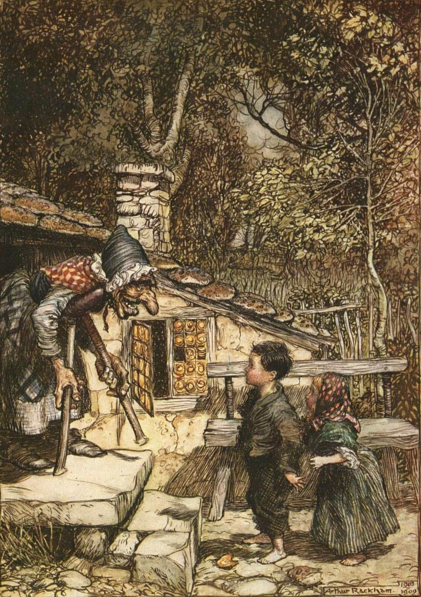 illustration for Hansel and Gretel
