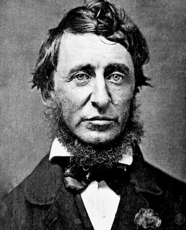 An illustration for the story Henry David Thoreau: A Child's Biography by the author Henry David Thoreau
