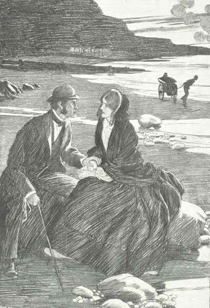 An illustration for the story Hunted Down by the author Charles Dickens