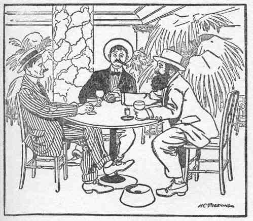 An illustration for the story Innocents of Broadway by the author O. Henry