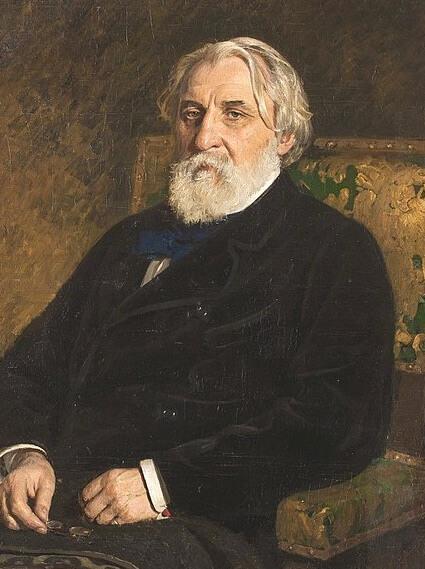 Ivan Turgenev essay by Henry James, Ilya Repin portrait, 1874