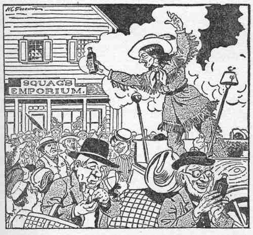 An illustration for the story Jeff Peters as a Personal Magnet by the author O. Henry