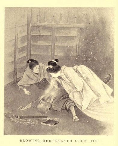 Lafcadio Hearn, Kwaidan artwork, 1904