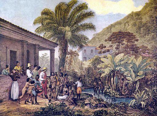 Leiningen Versus the Ants, Brazil plantation, Johann Moritz Rugendas, 1824