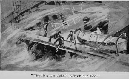 Rounding Cape Horn and other stories, Missing, clear over