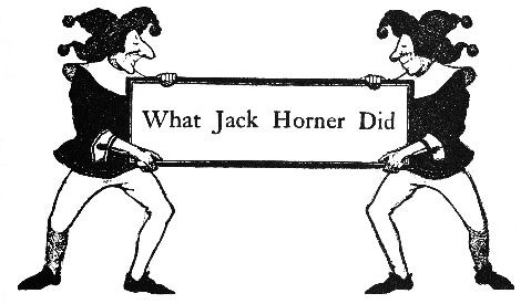 What Jack Horner Did intro