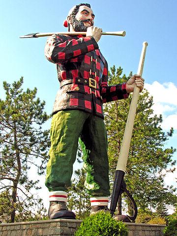 Paul Bunyan Statue in Bangor, ME