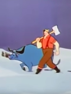 Folk Hero Paul Bunyan
