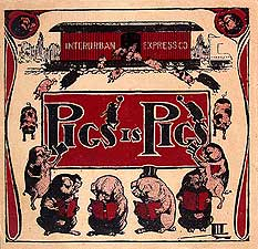 Pigs is Pigs cover, 1905
