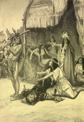 Pocahontas: The Indian Girl of the Virginia Forest