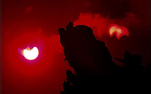 Shehal Joseph / Romayne Anthony, Solar Eclipse, Sri Lanka, January 10, 2010