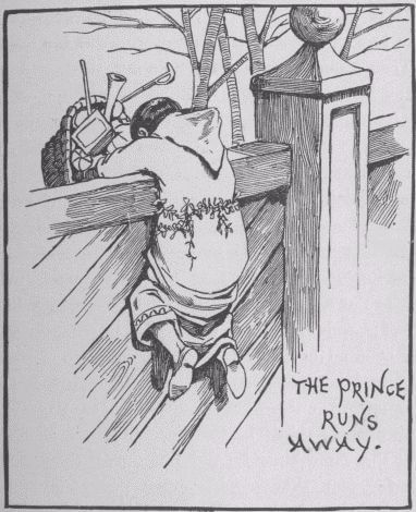 The Christmas Monks: The Prince runs away