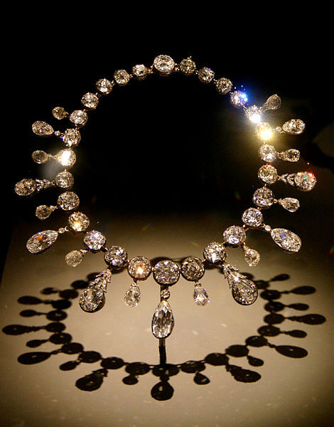 The Necklace, Napoleon's collection