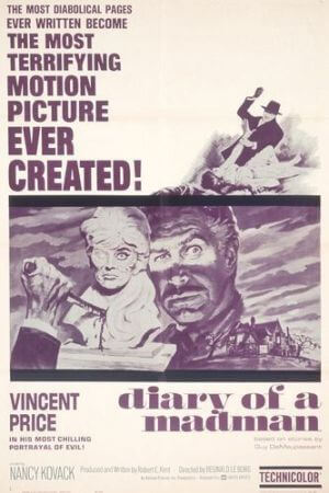 Guy de Maupassant: The Diary of a Madman (1963 movie)