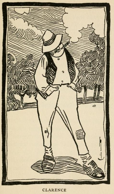 George Ade, The Fable of the Parents Who Tinkered with the Offspring, Clarence