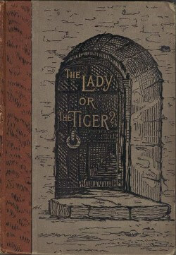 The Lady, or the Tiger? Study Guide: Book cover, 1884