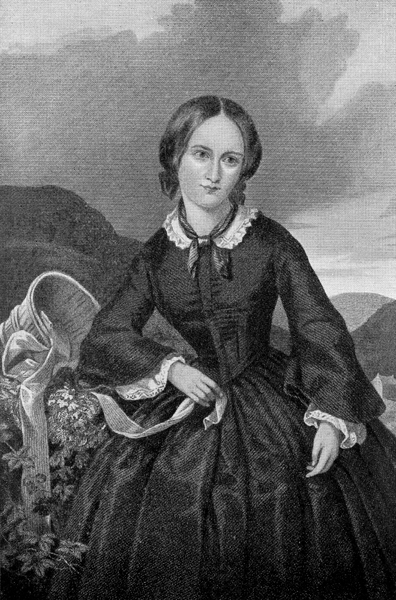 An illustration for the story The Life of Charlotte Bronte by the author Elizabeth Gaskell