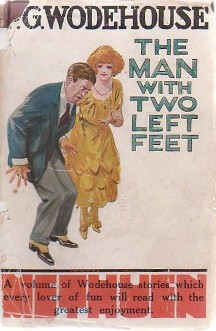 An illustration for the story The Man With Two Left Feet by the author P. G. Wodehouse