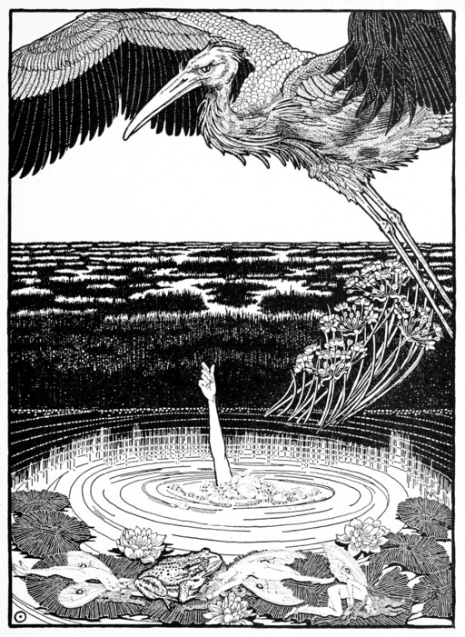The Marsh King's Daughter, illustrated by Dugald Stewart Walker