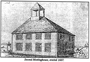 The Minister's Black Veil: Milford meeting-house, 1667