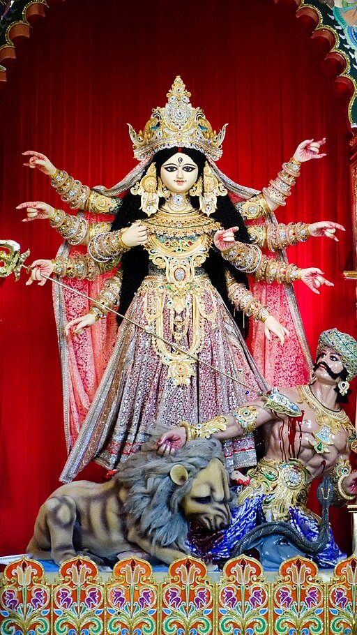The Monkey's Paw Study Guide: Durga Hindu Goddess Who Fights Evil