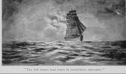 Rounding Cape Horn and other stories, The Monomaniac, full moon